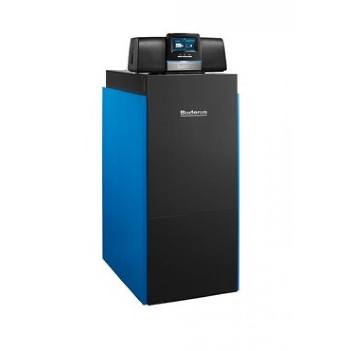 Котел  Buderus Logano plus KB372-75 R RU напольный конденсационный одноконтурный  (черно-синий)